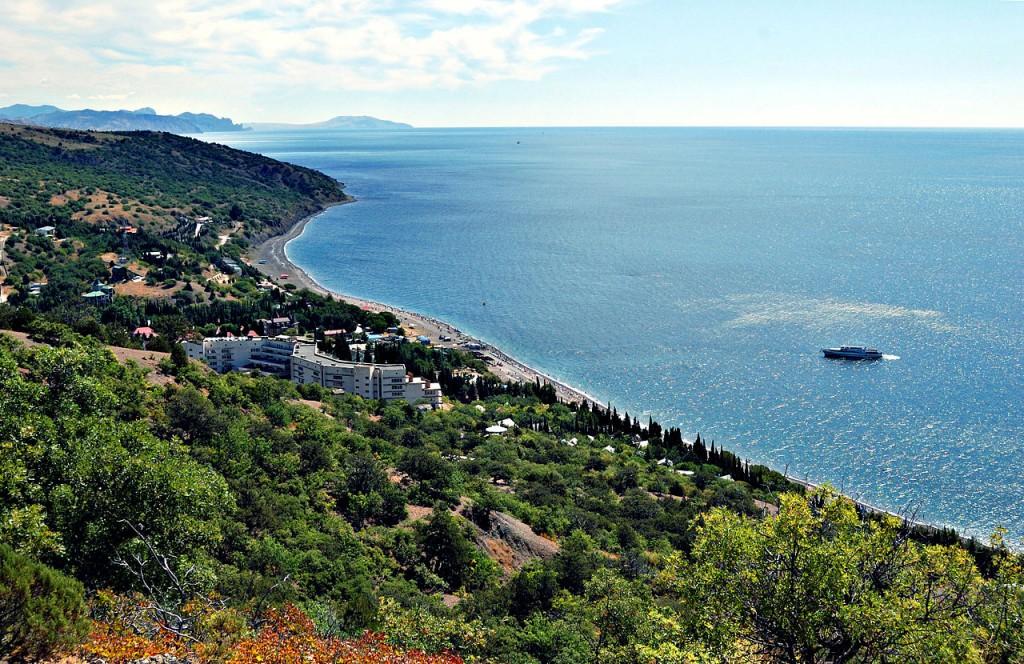 Südküste der Halbinsel Krim