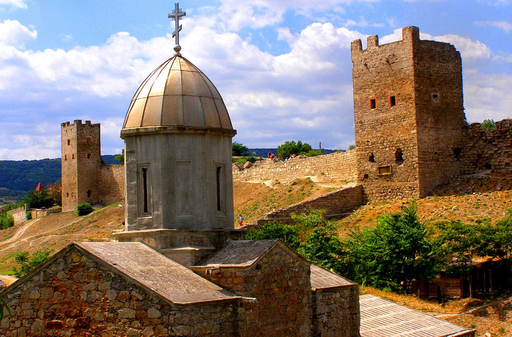 THE_GENOESE_FORTRESS_IN_CAFFA