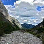 vertrocknetes Flussbett