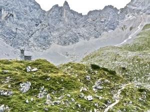 Lamsenjochhütte August 2015