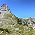 Lamsenspitze und Lamsenjochhütte