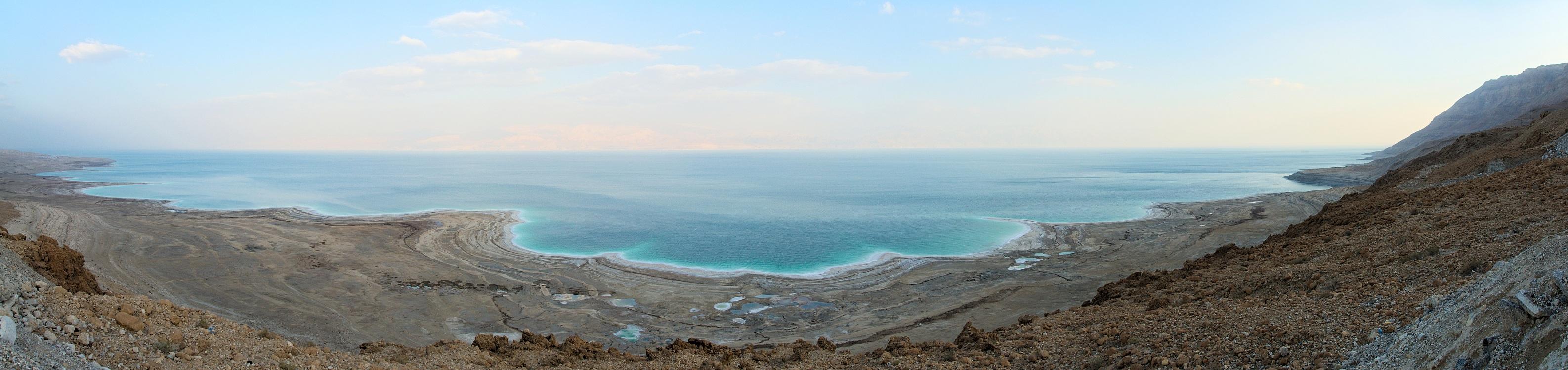 Blick auf der Totes Meer (von israelischen Seite)