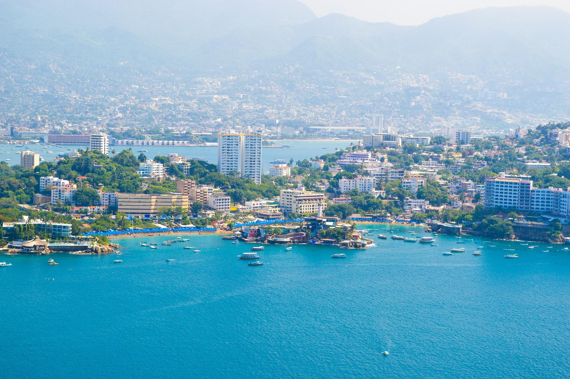 Hotelkomplex von Acapulco