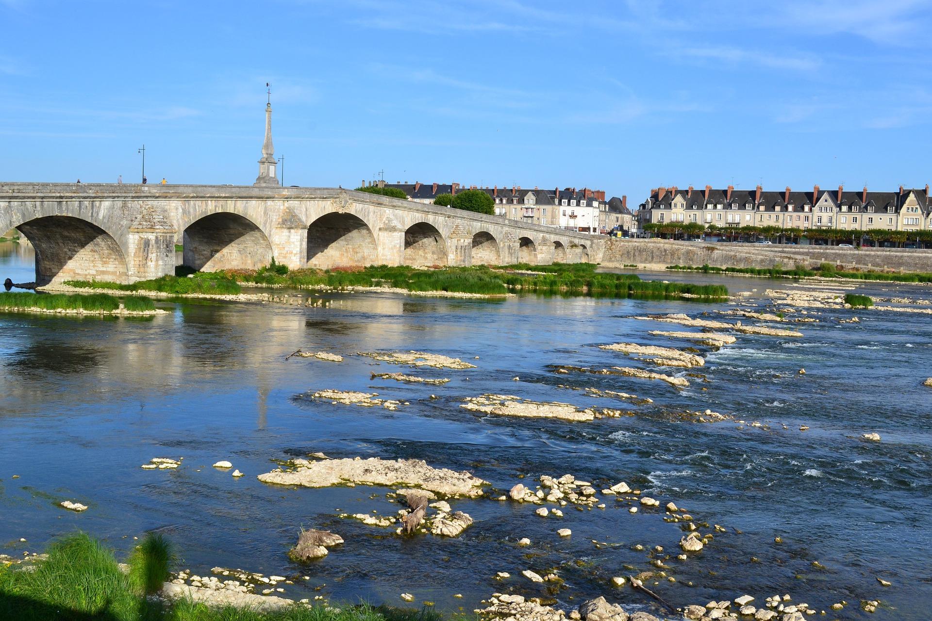 Die Loire bei Blois