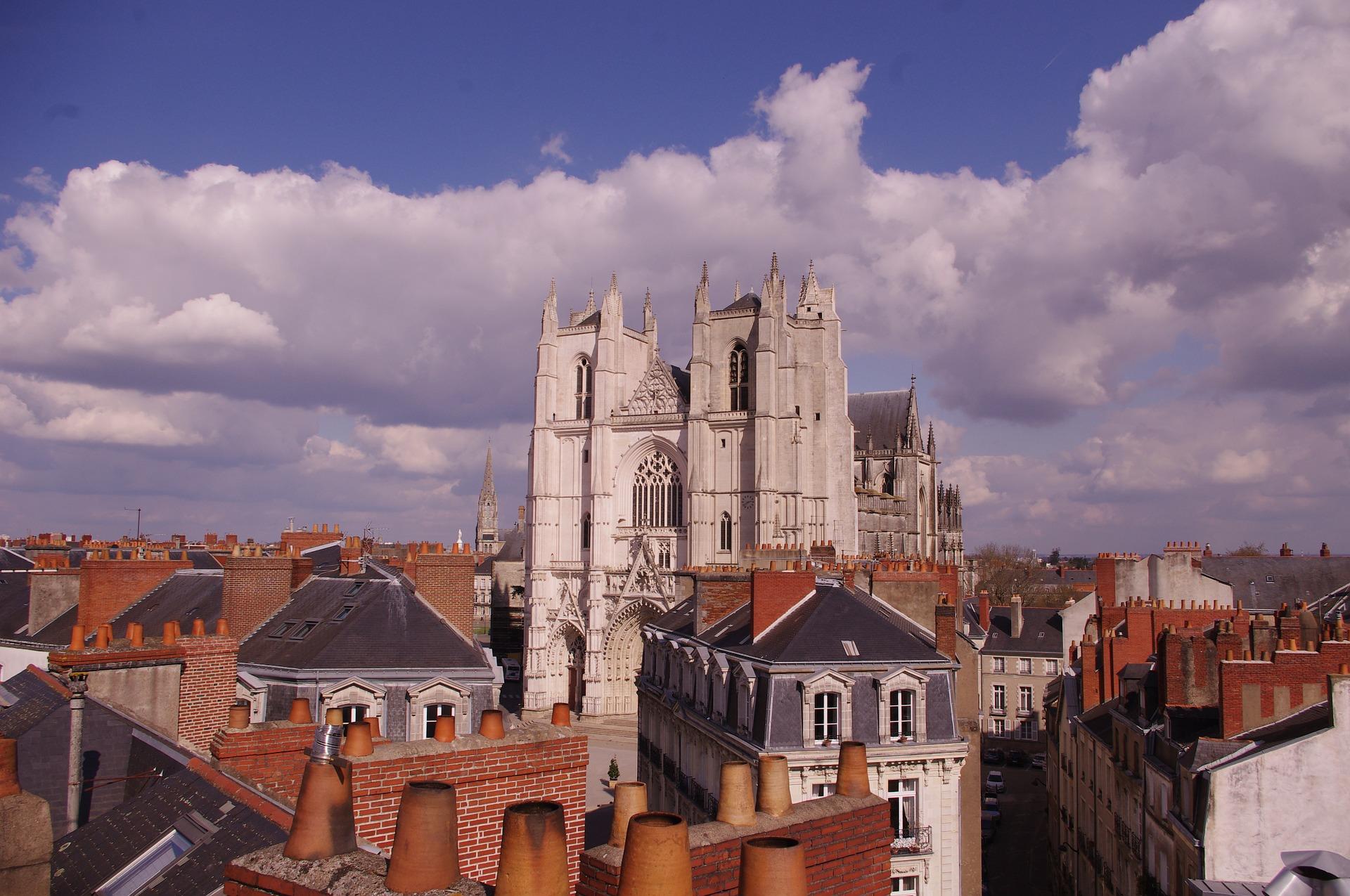 Nantes und Kathedrale
