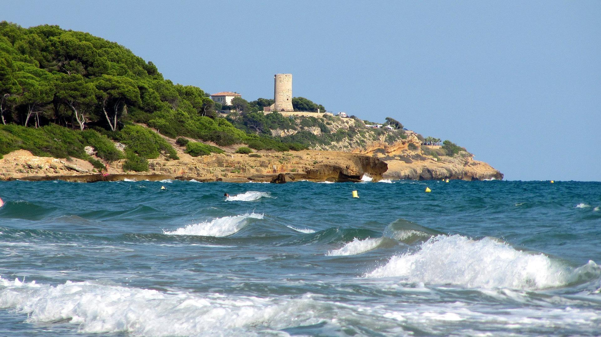 Küste von Tarragona