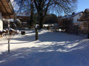 Sibirische Kälte in Fraßhausen und Umgebung