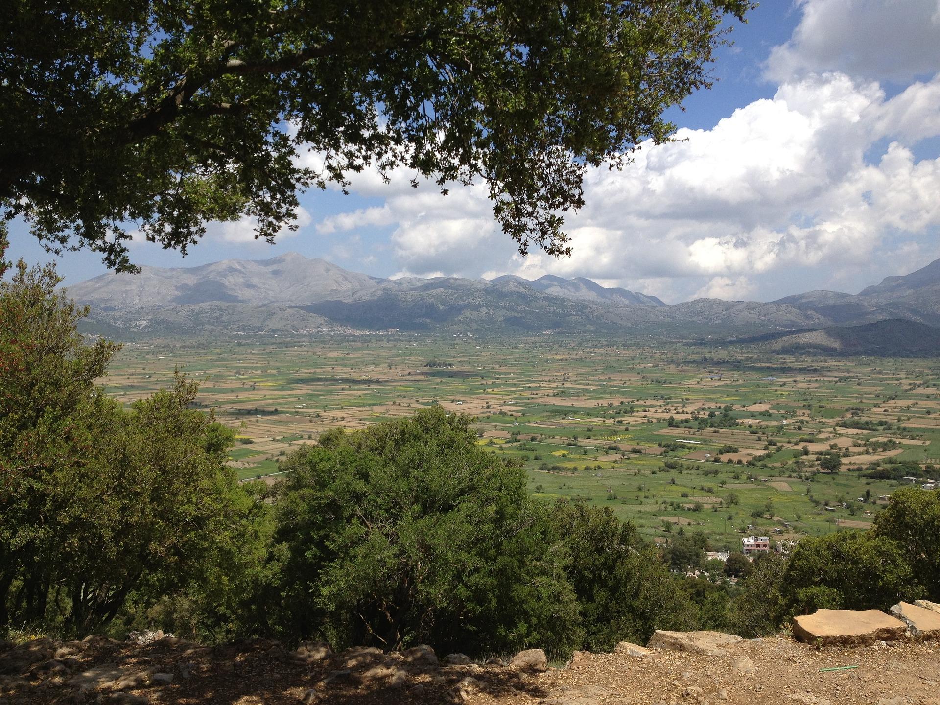 Letzte Ausläufer der Messara-Ebene im Zentrum Kretas
