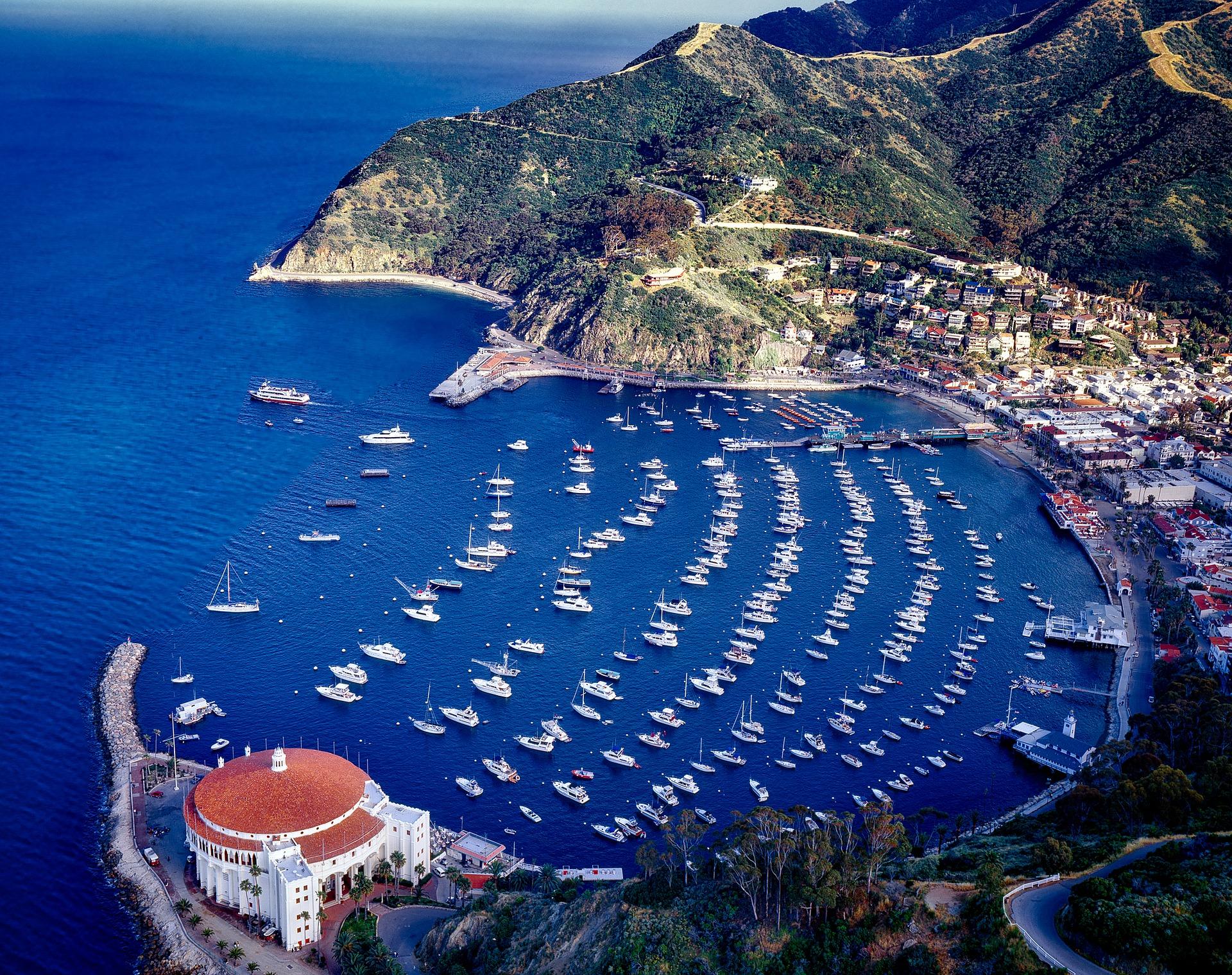 Catalina Island Port Long Beach